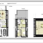 Plan moderne woning project Hogenakker, 9170 De Klinge